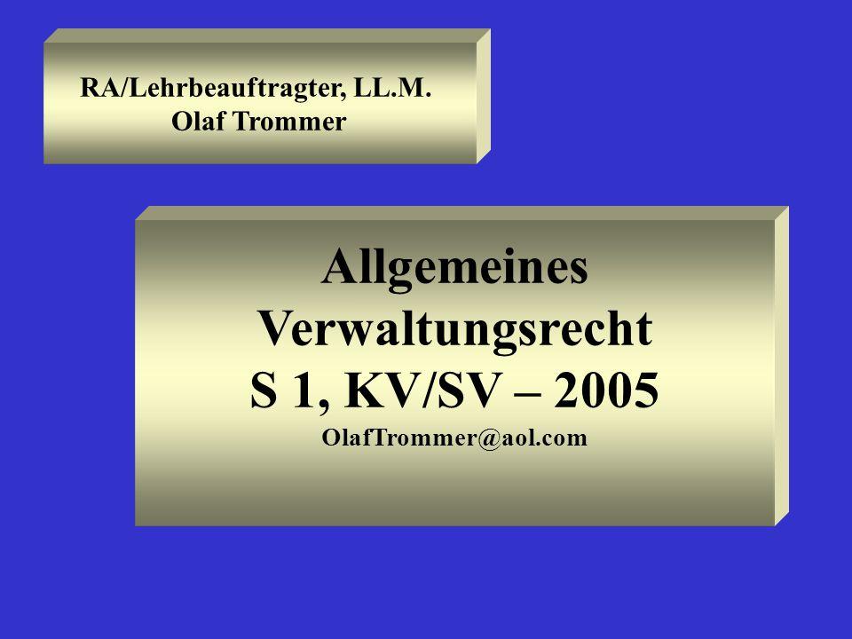 RA/Lehrbeauftragter, LL.M.