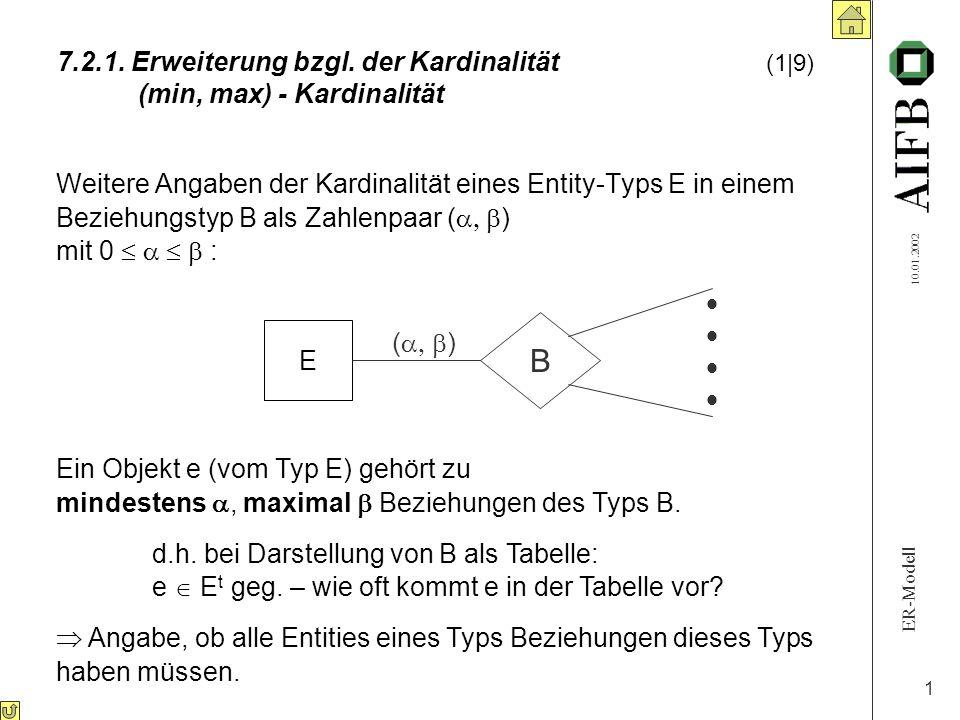 7. 2. 1. Erweiterung bzgl. der Kardinalität. (1|9)