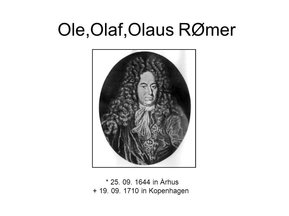 * 25. 09. 1644 in Århus + 19. 09. 1710 in Kopenhagen