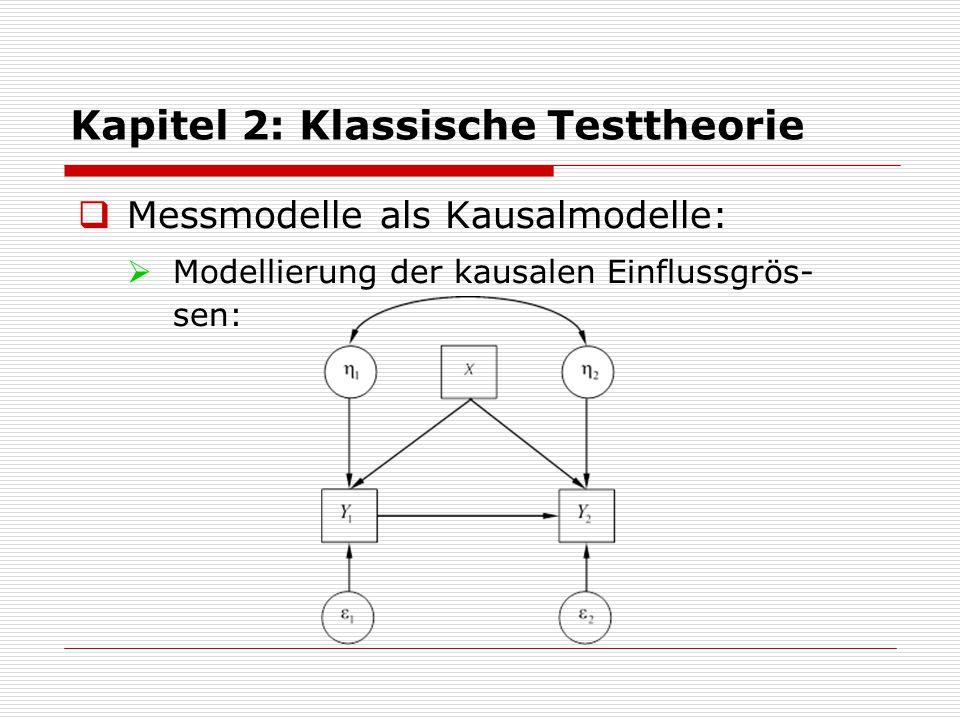 Kapitel 2: Klassische Testtheorie