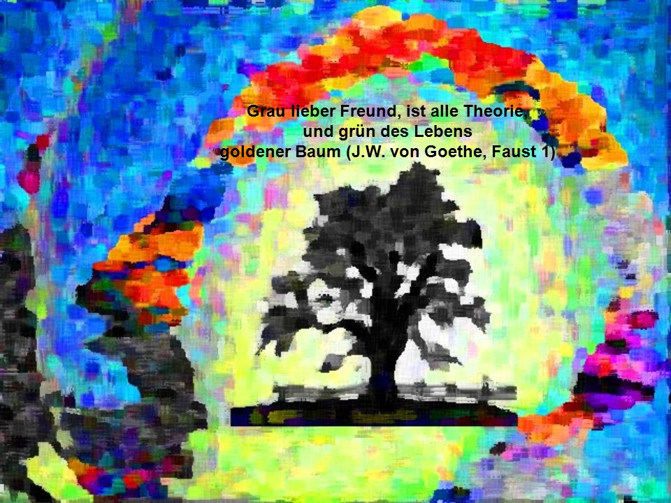 goldener Baum (J.W. von Goethe, Faust 1)