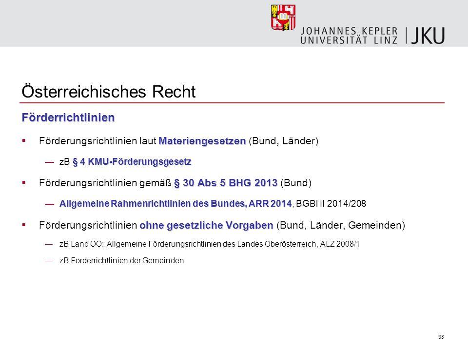 Österreichisches Recht