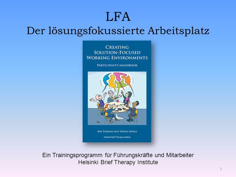 LFA Der lösungsfokussierte Arbeitsplatz