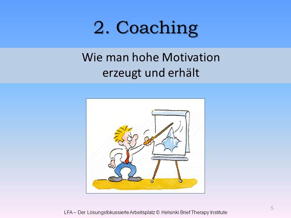 Wie man hohe Motivation erzeugt und erhält