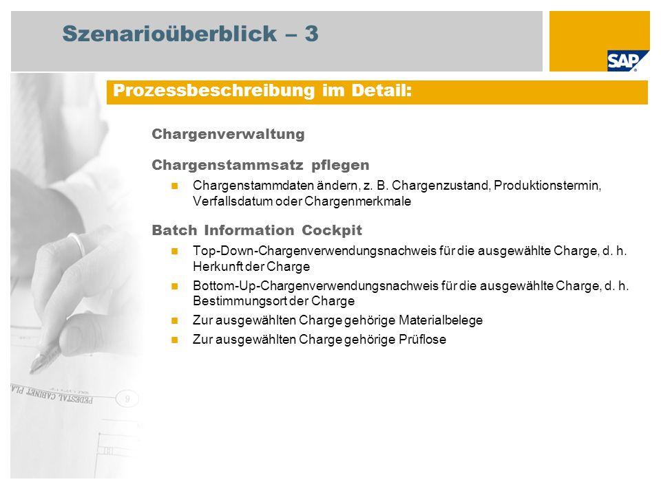 Szenarioüberblick – 3 Prozessbeschreibung im Detail: Chargenverwaltung