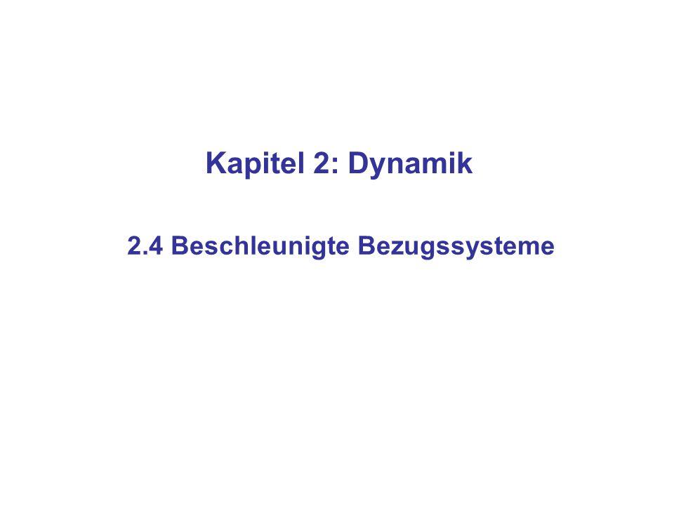 2.4 Beschleunigte Bezugssysteme - ppt video online herunterladen