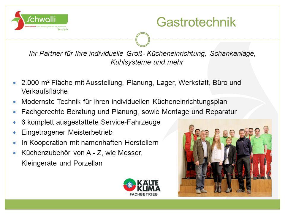 Gastrotechnik Ihr Partner für Ihre individuelle Groß- Kücheneinrichtung, Schankanlage, Kühlsysteme und mehr.