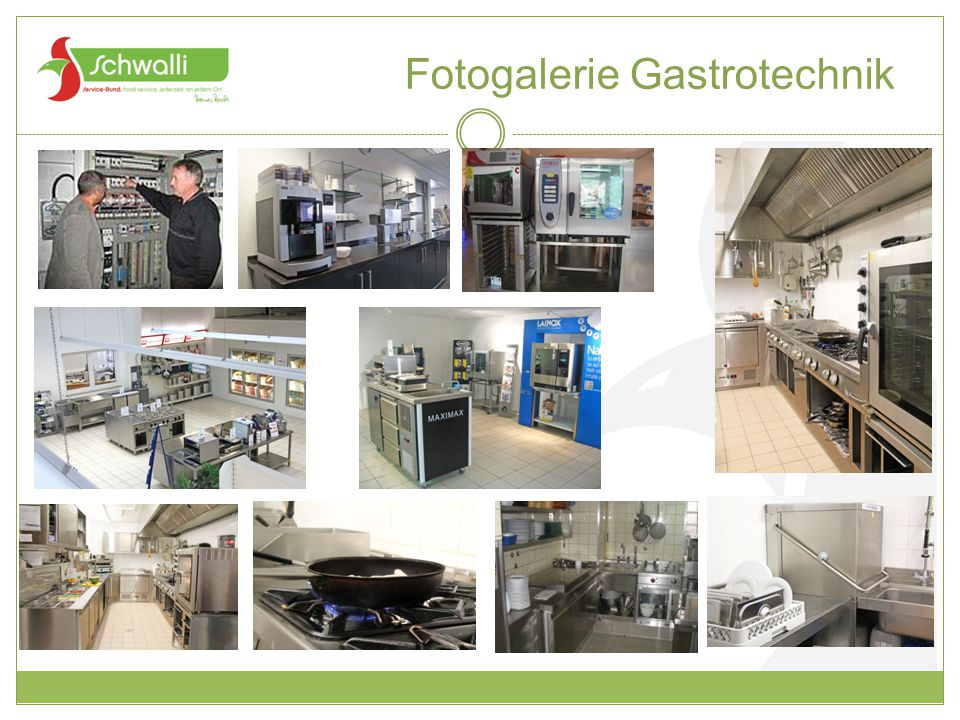 Fotogalerie Gastrotechnik