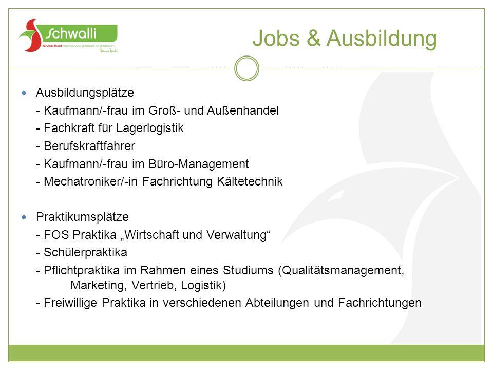 Jobs & Ausbildung Ausbildungsplätze