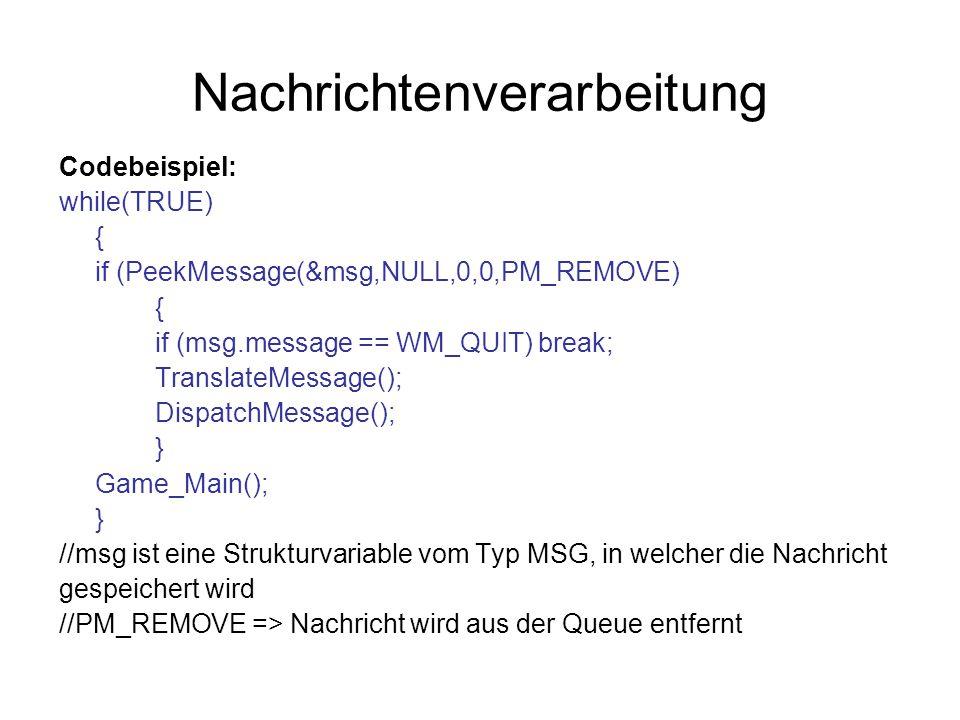 Nachrichtenverarbeitung