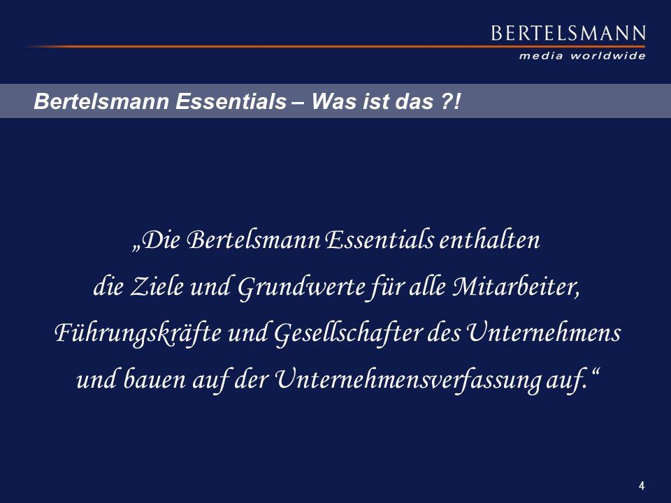 Bertelsmann Essentials – Was ist das !