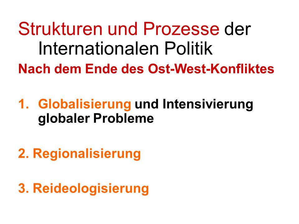 Strukturen und Prozesse der Internationalen Politik