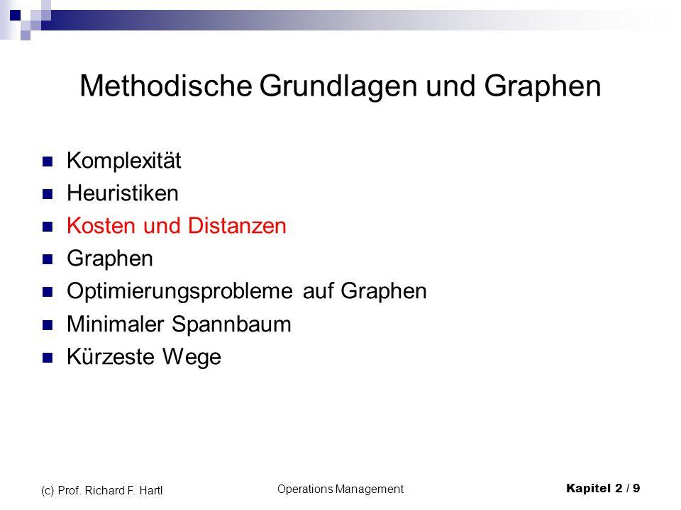 Methodische Grundlagen und Graphen