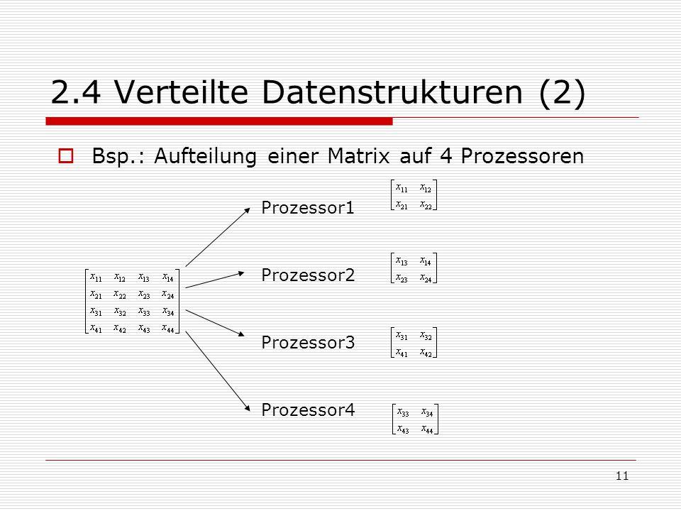 2.4 Verteilte Datenstrukturen (2)