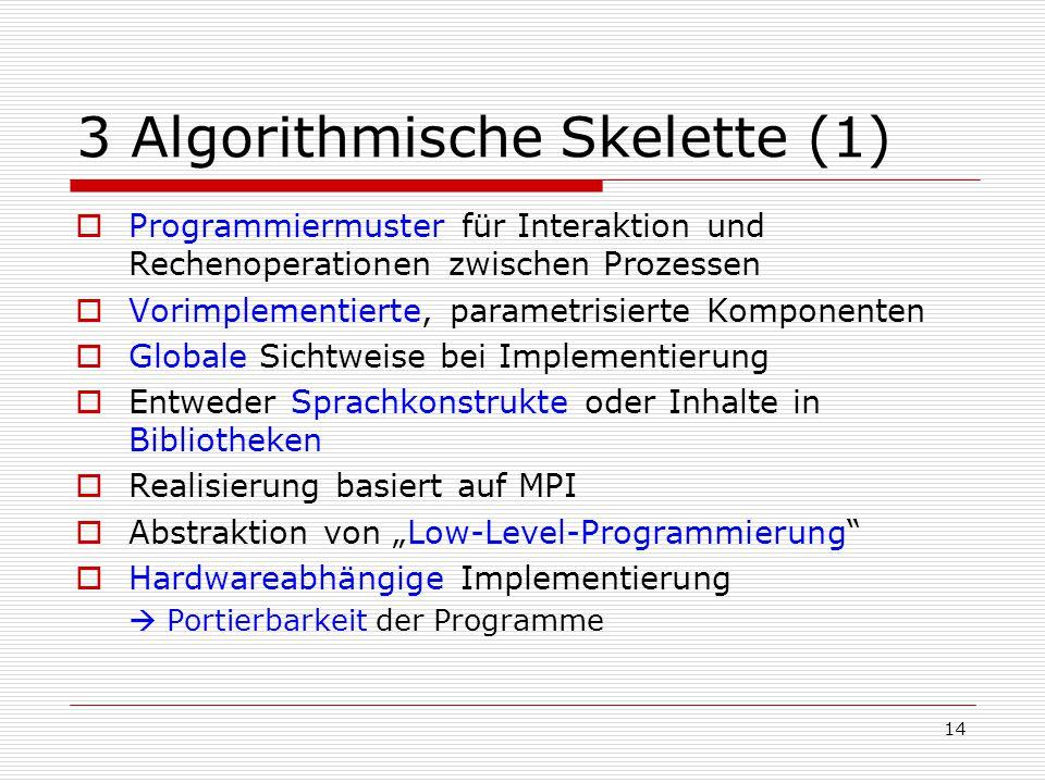 3 Algorithmische Skelette (1)
