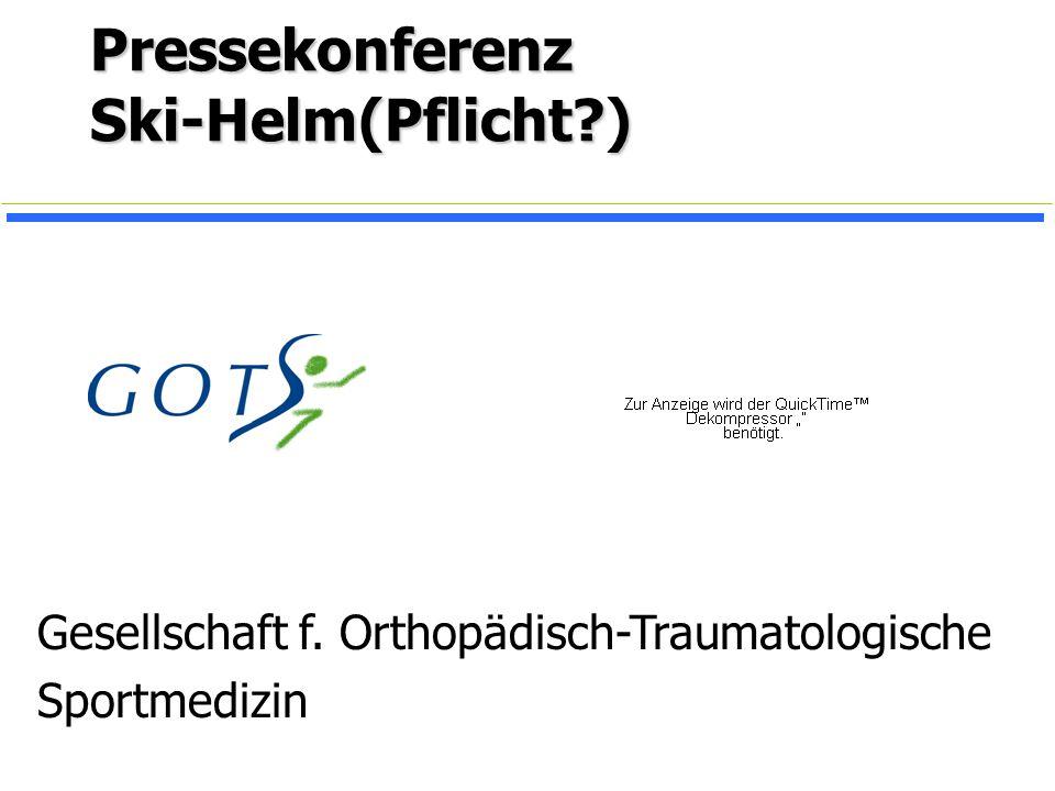 Pressekonferenz Ski-Helm(Pflicht )