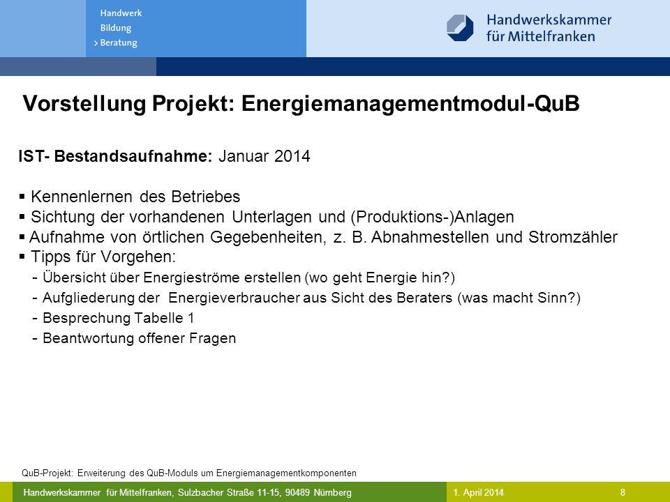 Vorstellung Projekt: Energiemanagementmodul-QuB