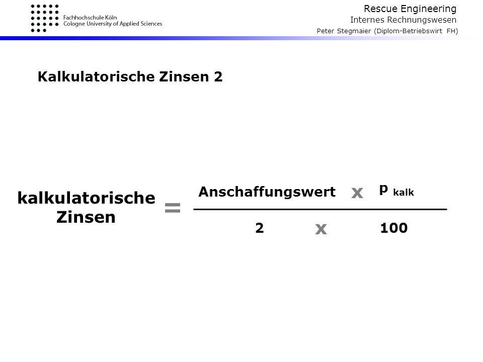 Kalkulatorische Zinsen 2