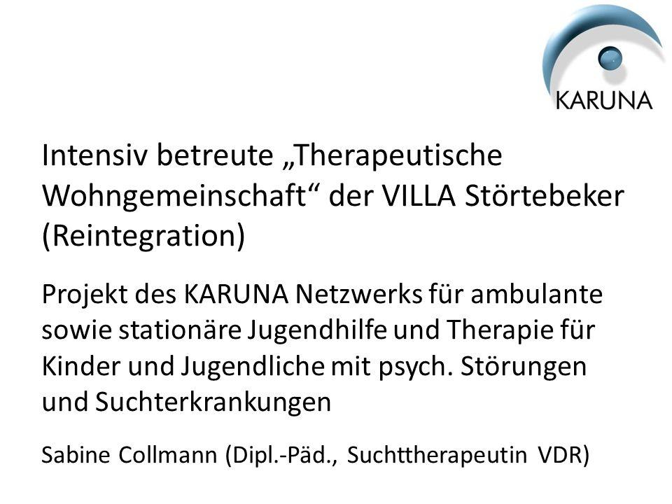 """Intensiv betreute """"Therapeutische Wohngemeinschaft der VILLA Störtebeker (Reintegration)"""