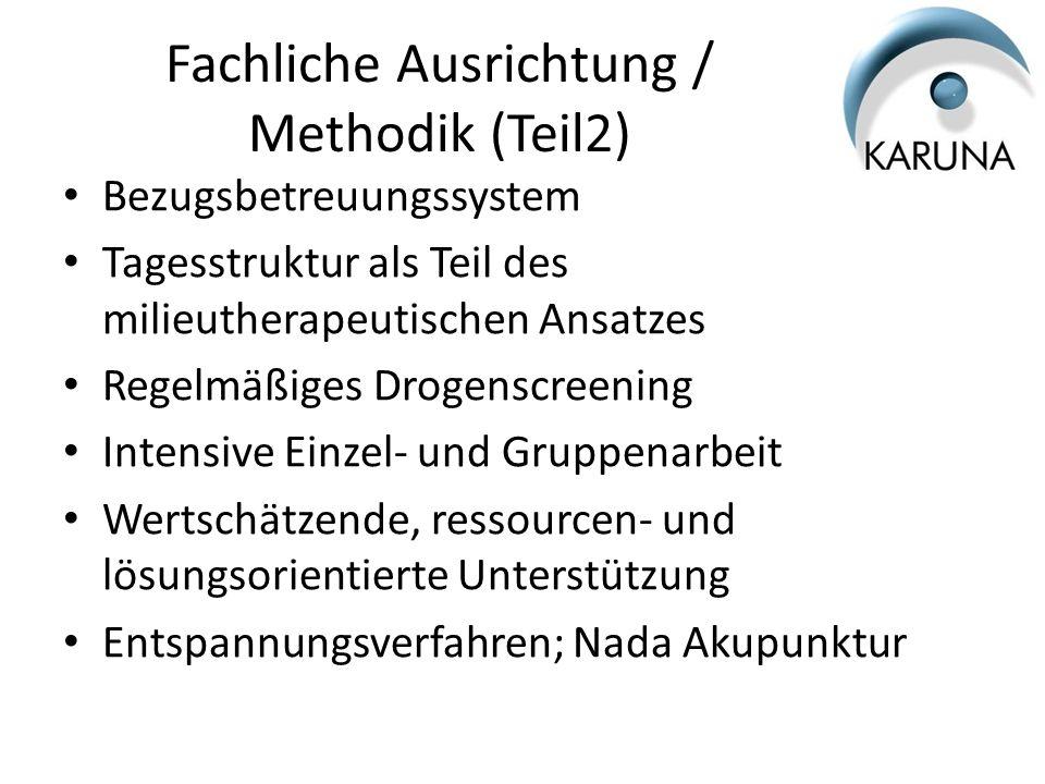 Fachliche Ausrichtung / Methodik (Teil2)