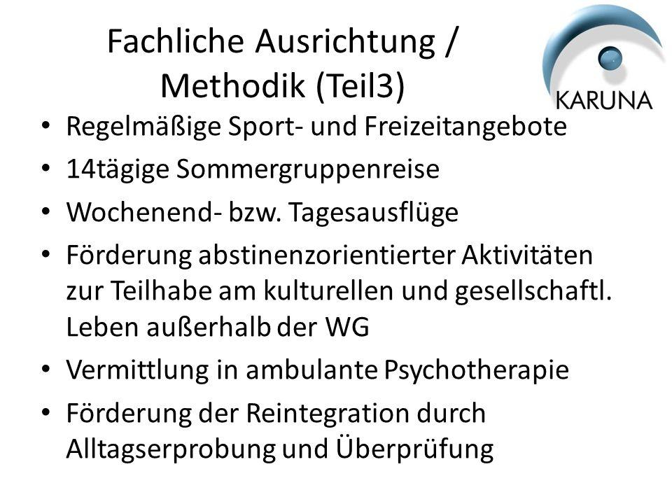 Fachliche Ausrichtung / Methodik (Teil3)