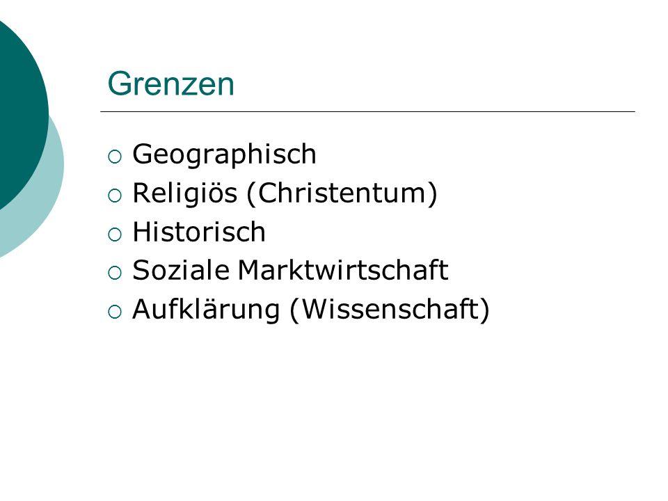 Grenzen Geographisch Religiös (Christentum) Historisch