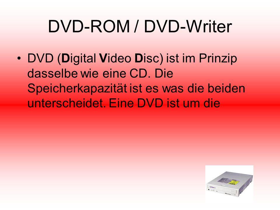 DVD-ROM / DVD-Writer