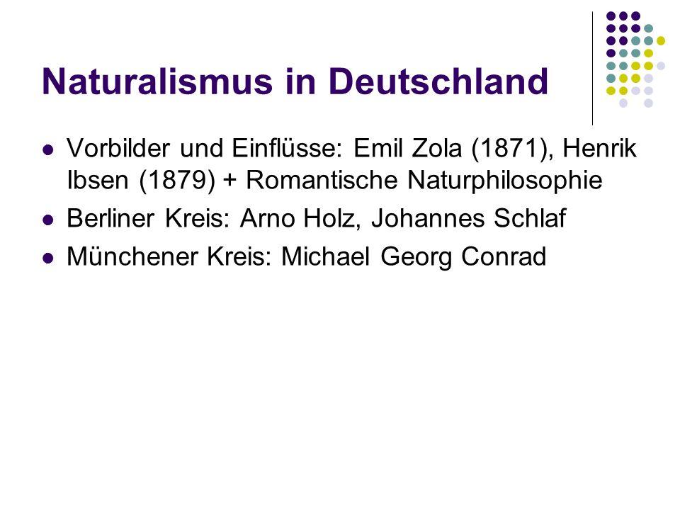 Naturalismus in Deutschland