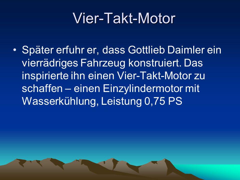 Vier-Takt-Motor