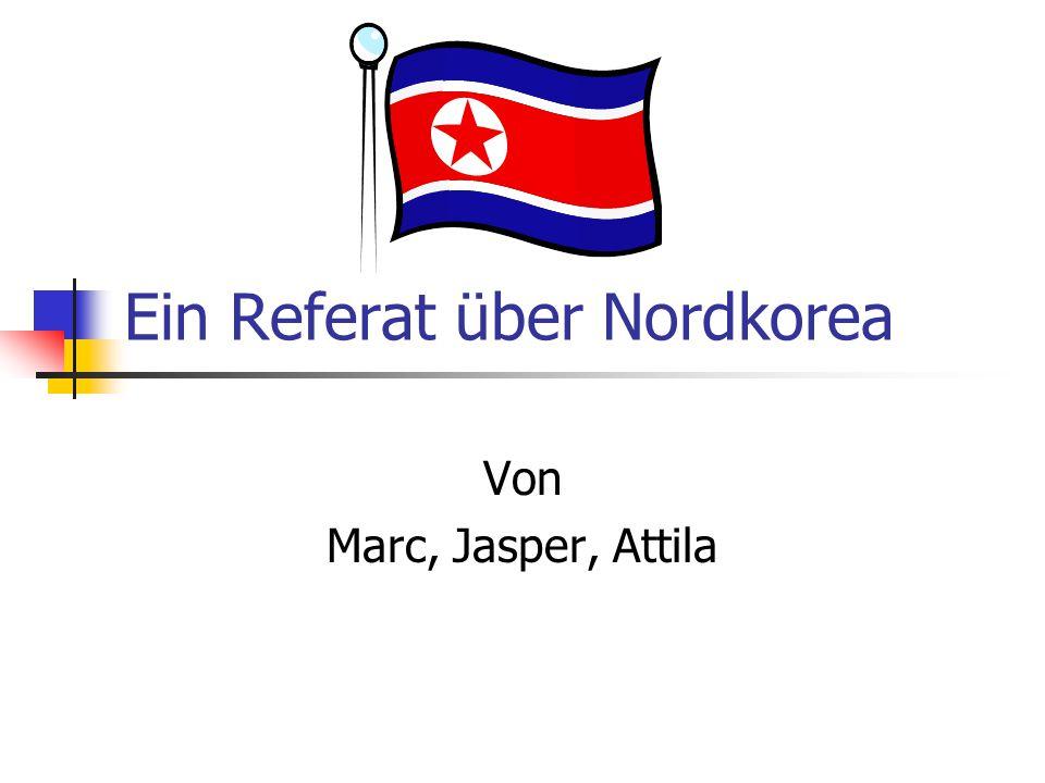Ein Referat über Nordkorea