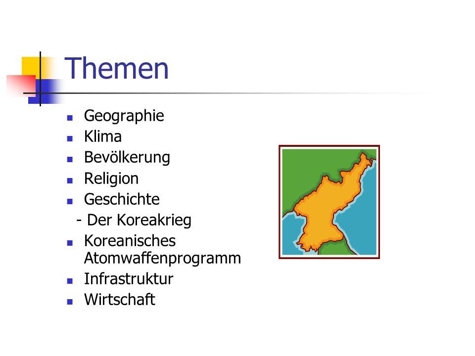 Themen Geographie Klima Bevölkerung Religion Geschichte
