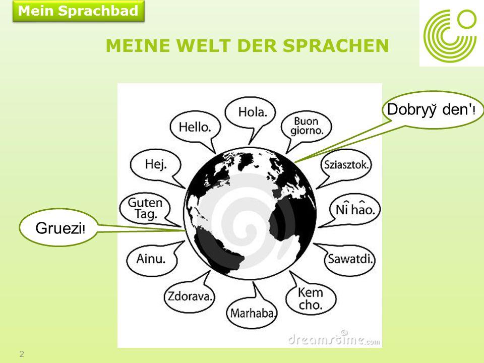 Meine Welt der Sprachen