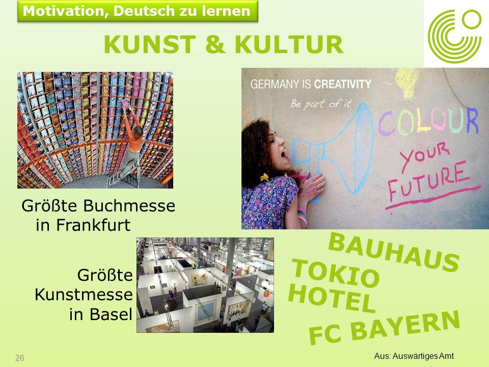 Kunst & Kultur Bauhaus Tokio Hotel FC BAyern