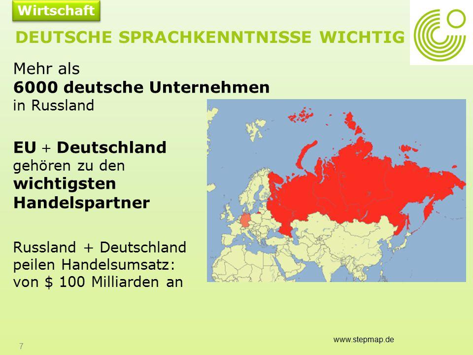 Deutsche Sprachkenntnisse wichtig