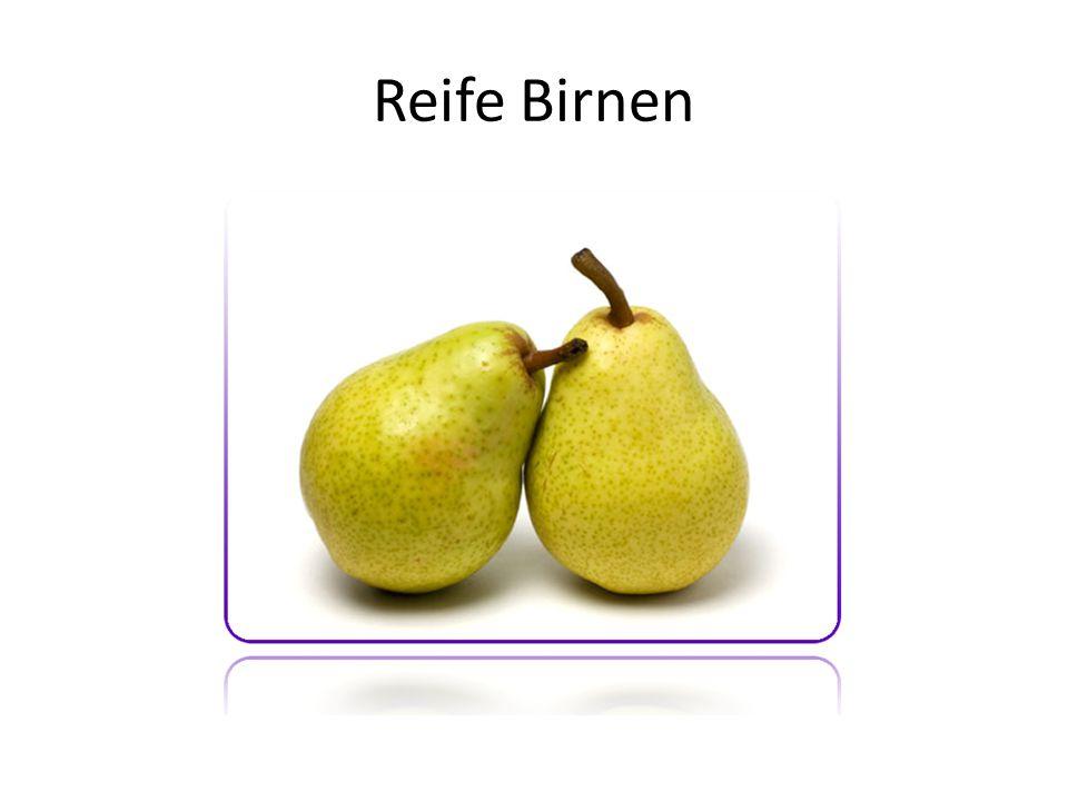 Reife Birnen