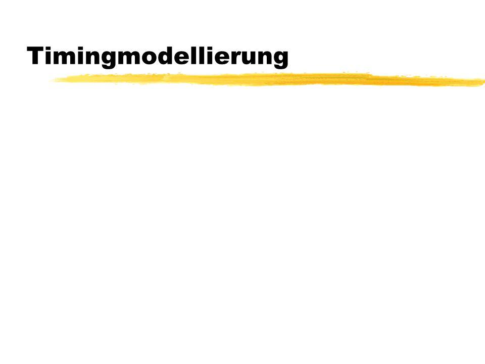 Timingmodellierung