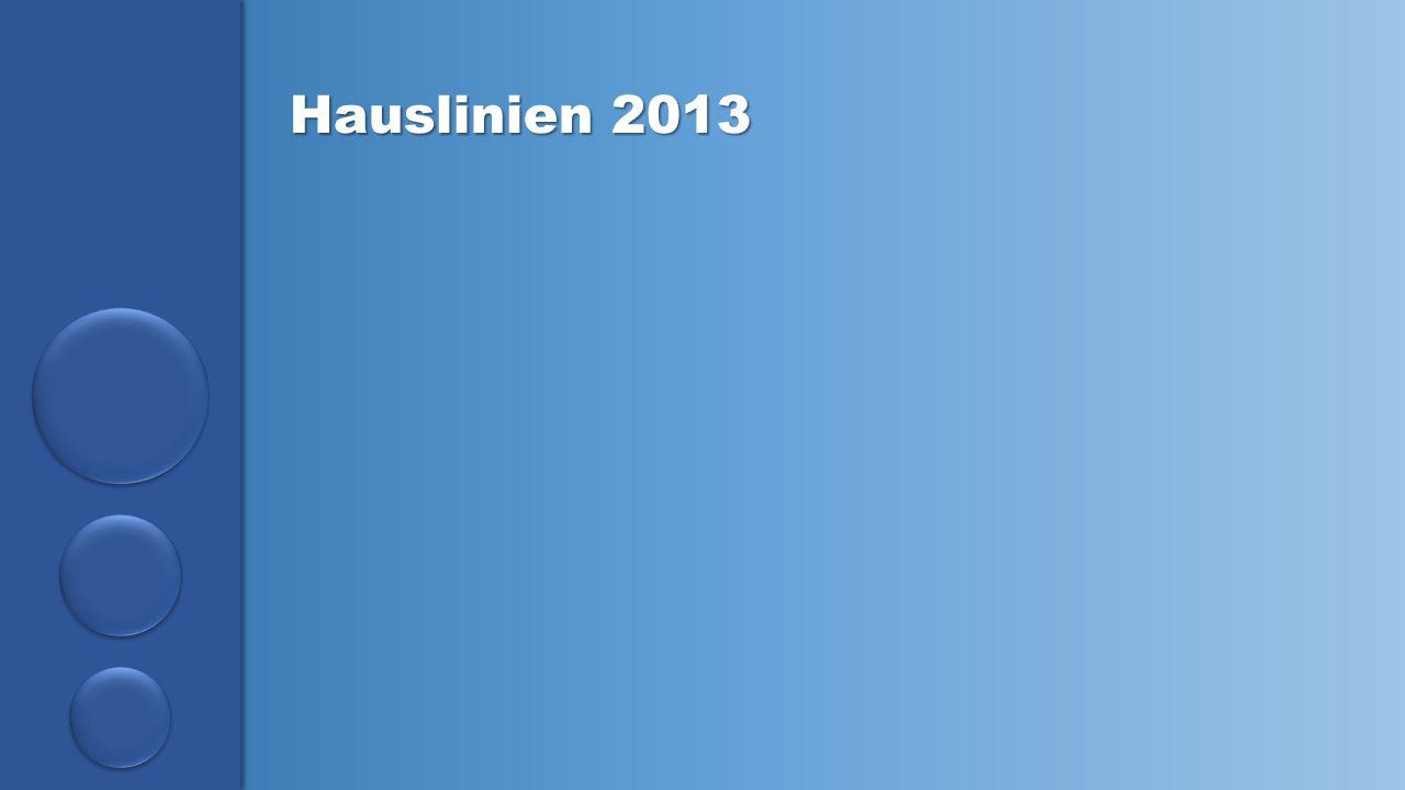 Hauslinien 2013