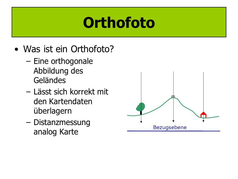 Orthofoto Was ist ein Orthofoto