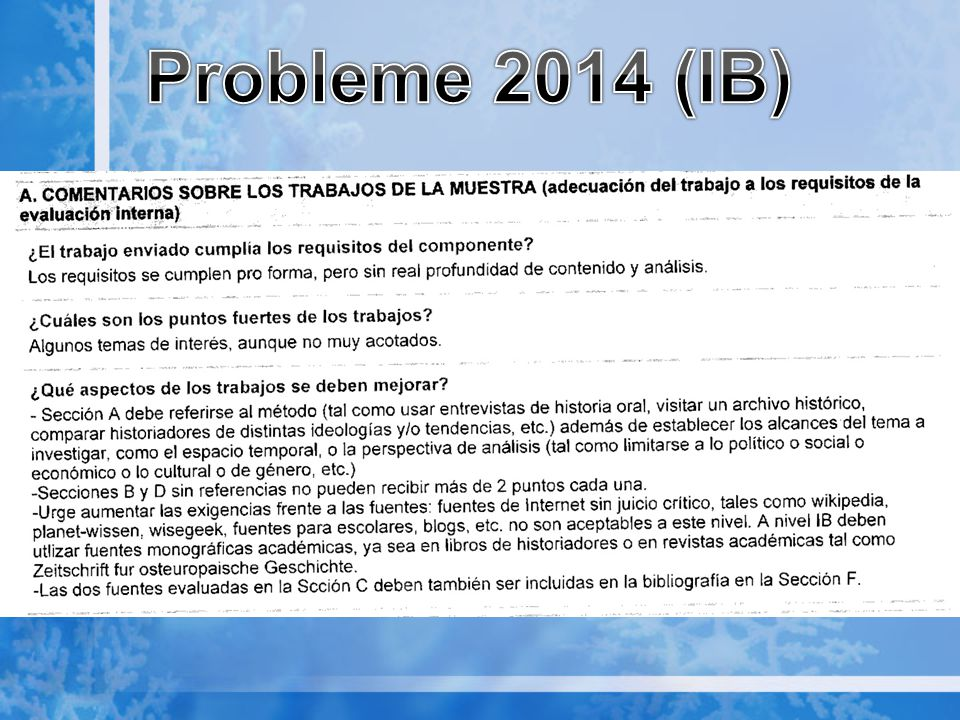 Probleme 2014 (IB)