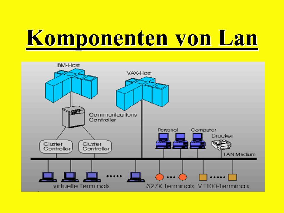 Komponenten von Lan