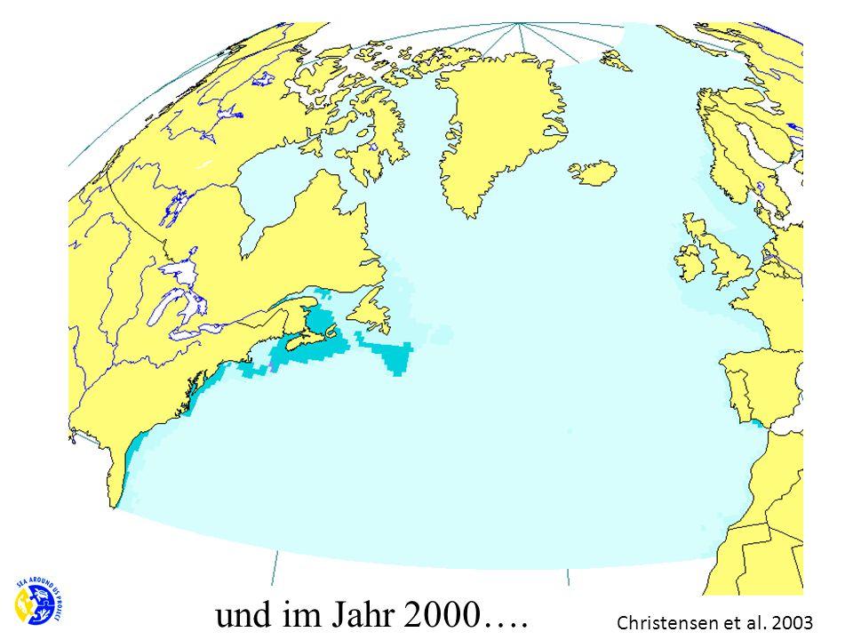 und im Jahr 2000…. Christensen et al. 2003