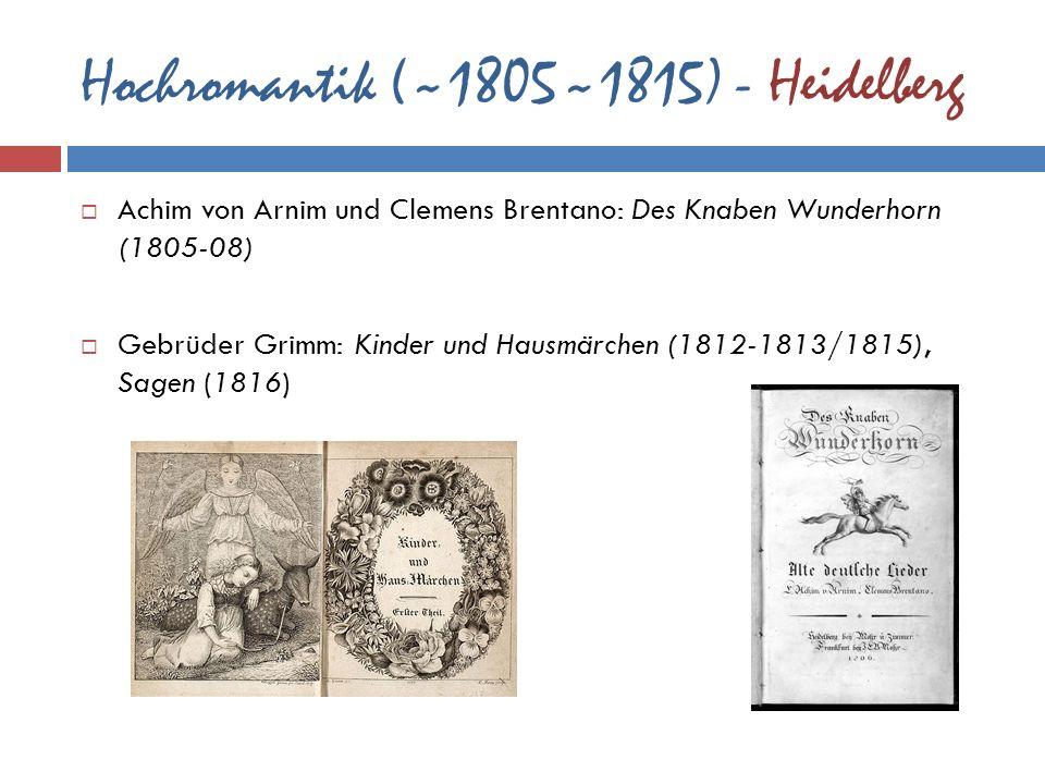 Hochromantik (~1805~1815) - Heidelberg