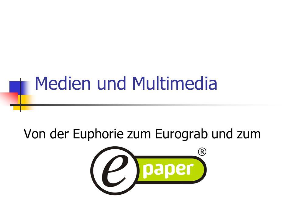 Von der Euphorie zum Eurograb und zum