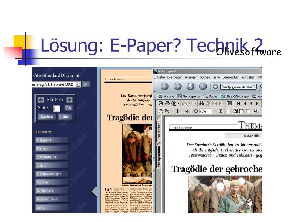 Lösung: E-Paper Technik 2