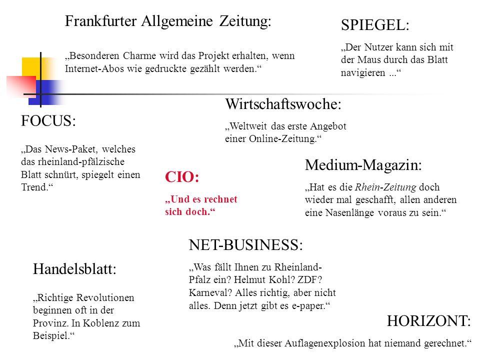 Frankfurter Allgemeine Zeitung: SPIEGEL: