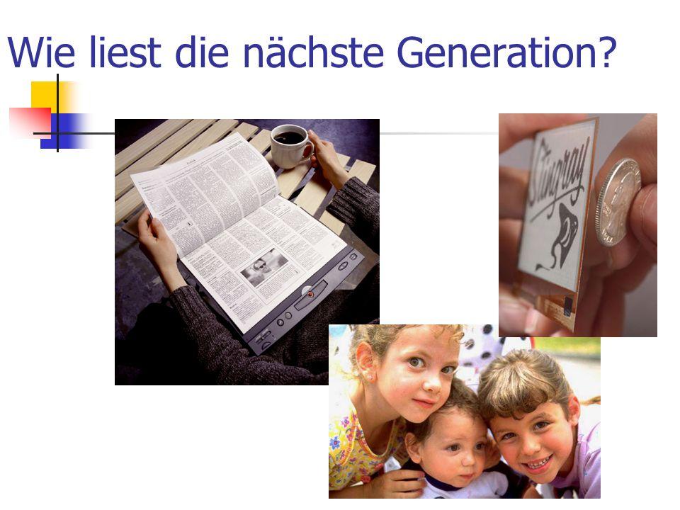 Wie liest die nächste Generation