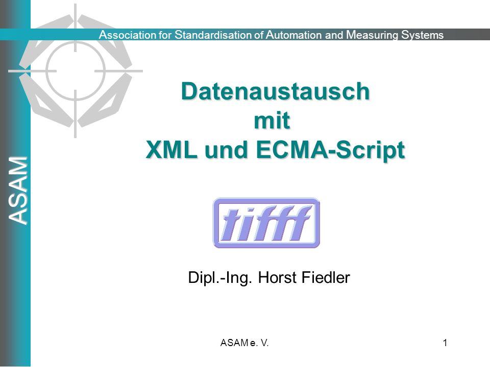 Datenaustausch mit XML und ECMA-Script