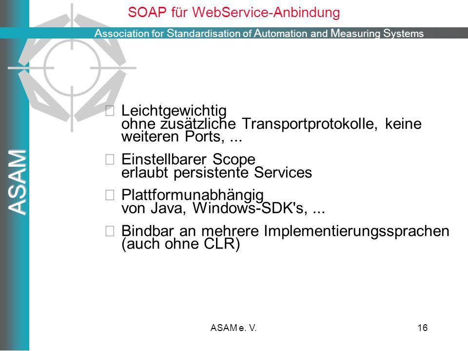SOAP für WebService-Anbindung