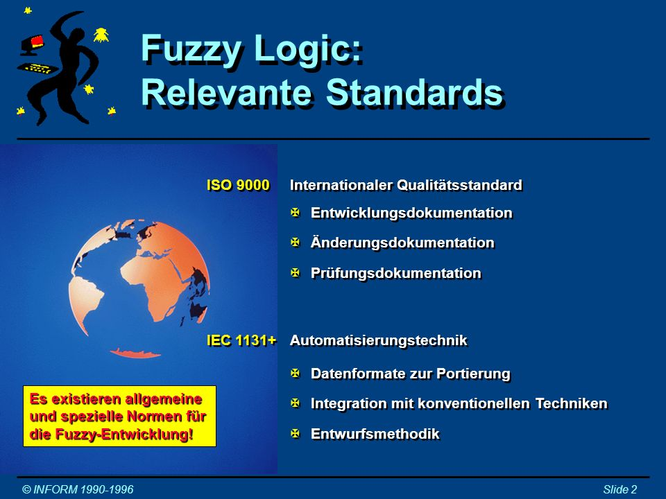 Fuzzy Logic: Relevante Standards