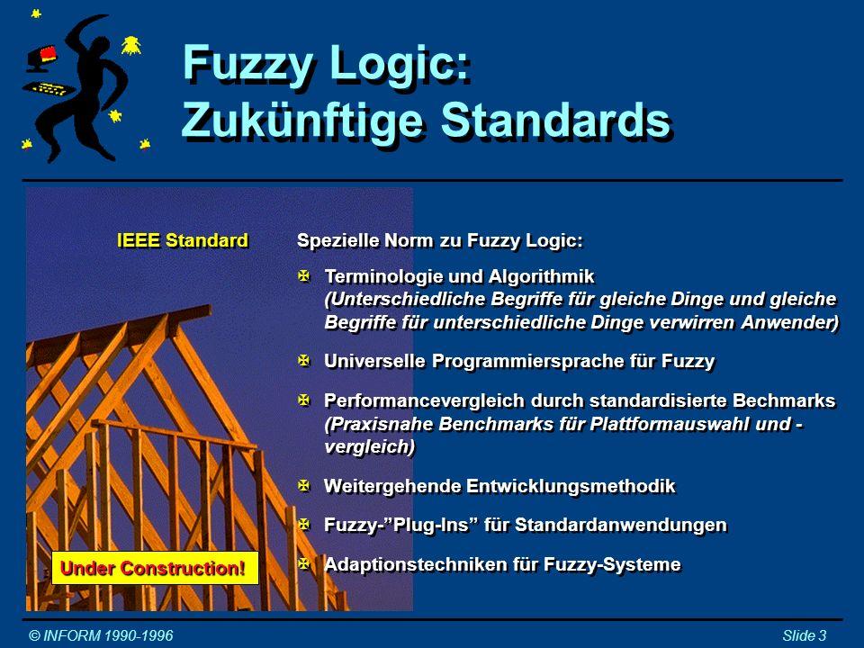 Fuzzy Logic: Zukünftige Standards